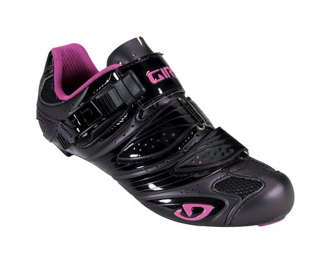 Giro Women's Factress Road Shoes (Black)