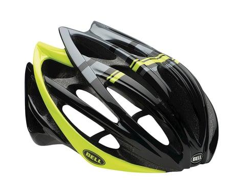Giro Bell Gage Road Helmet (Black/Hi Vis Yellow Draft)