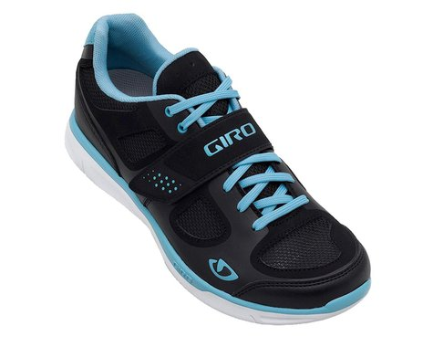 Giro Whynd Women's Cycling Shoes - Closeout (Black/White/Blue)