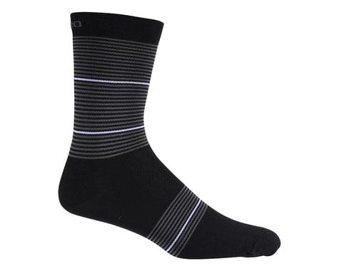 Giro Merino Seasonal Wool Socks (Black/White Stripe)
