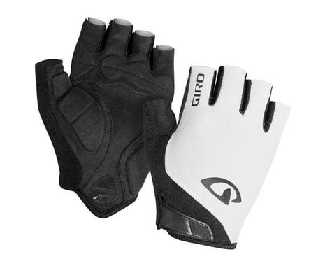 Giro Jag Short Finger Gloves (White) (L)
