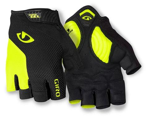Giro Strade Dure Supergel Short Finger Gloves (Yellow/Black) (2XL)