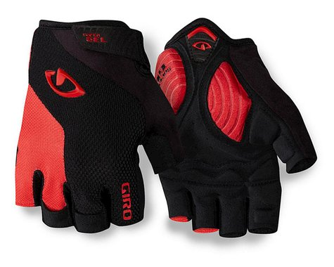 Giro Strade Dure Supergel Cycling Gloves (Black/Bright Red) (2016) (2XL)