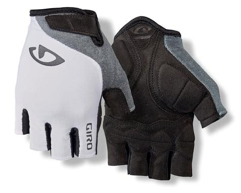 Giro Jag'ette Women's Gloves (White/Titanium) (S)