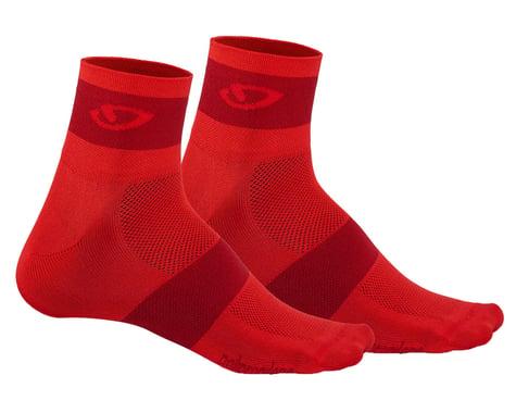 Giro Comp Racer Socks (Bright Red/Dark Red) (L)