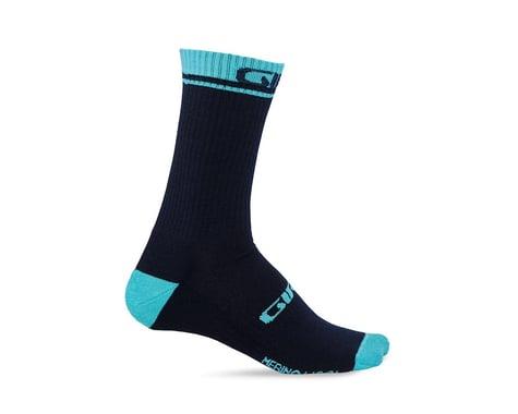 Giro Winter Merino Wool Socks (Midnight/Glacier) (S)