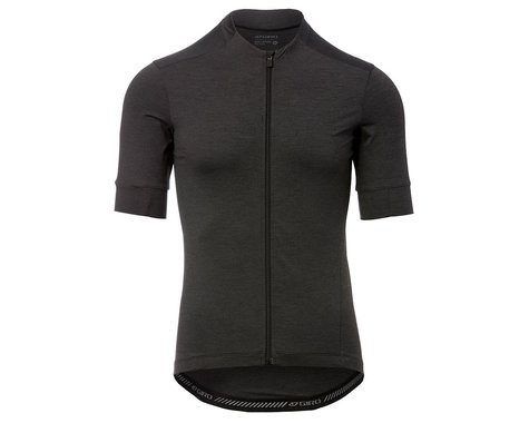Giro Men's New Road Short Sleeve Jersey (Charcoal Heather) (2XL)