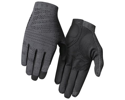 Giro Xnetic Men's Trail Gloves (Coal) (S)