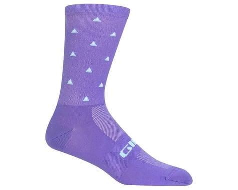 Giro Comp Racer High Rise Socks (Electric Purple Mountains)