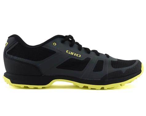 Giro Gauge Mountain Bike Shoes (Dark Shadow/Citrine Green) (50)