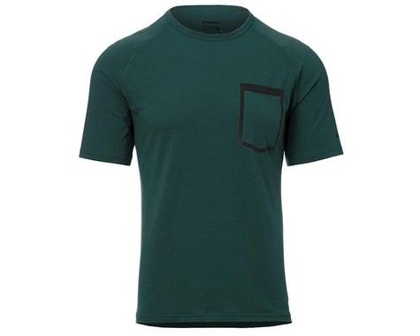 Giro Men's Venture Short Sleeve Jersey (True Spruce) (XL)