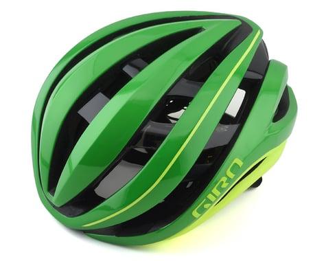 Giro Aether Spherical Road Helmet (Ano Green/Highlight Yellow) (L)