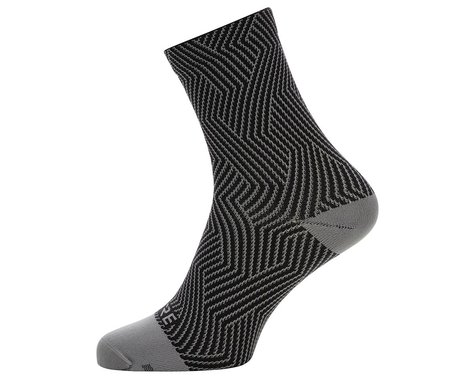 Gore Wear C3 Mid Socks (Graphite Grey/Black) (S)