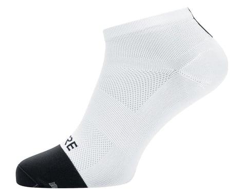 Gore Wear M Light Short Socks (White/Black) (S)