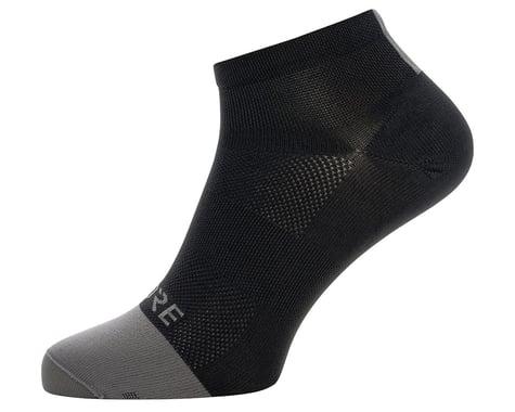 Gore Wear M Light Short Socks (Black/Graphite Grey)