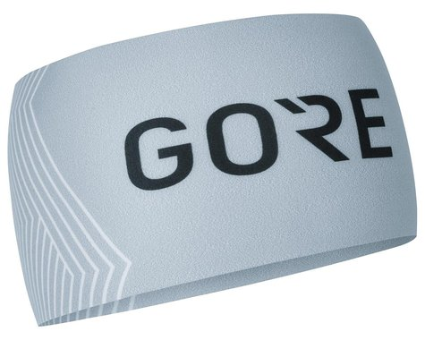 Gore Wear M Opti Headband (Light Grey/White)
