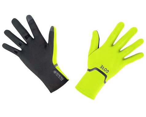 Gore Wear Gore-Tex Infinium Stretch Long Finger Gloves (Neon Yellow/Black)