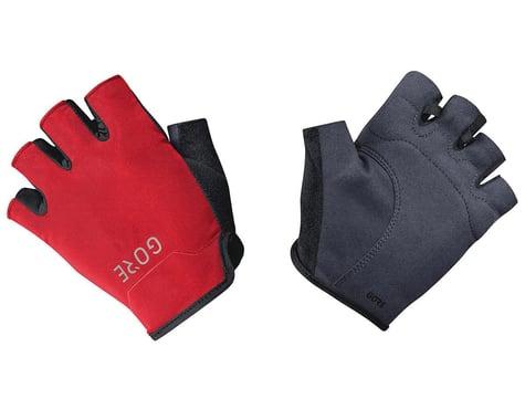 Gore Wear C3 Short Finger Gloves (Black/Red)