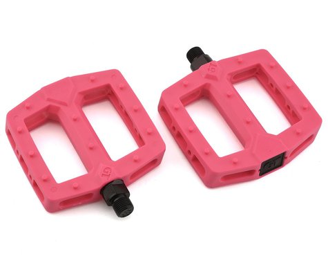 "GT PC Logo Pedals (Pink) (Pair) (9/16"")"