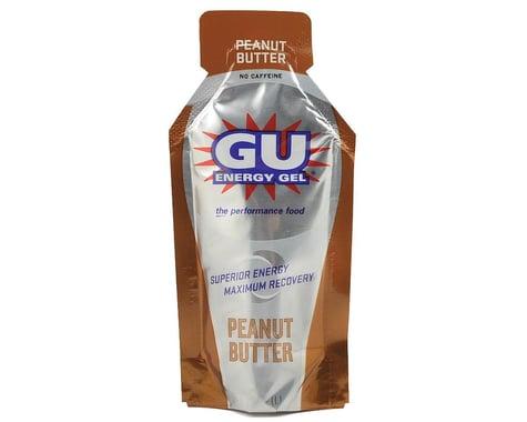 GU Energy Gel: Peanut Butter, Box of 24