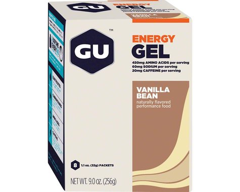 GU Energy Gel (Vanilla Bean) (8 | 1.1oz Packets)