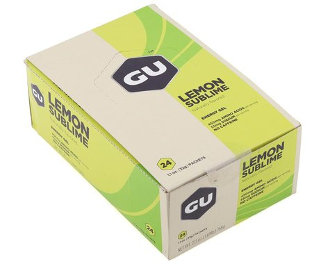 GU Energy Gel (Lemon Sublime) (24 | 1.1oz Packets)