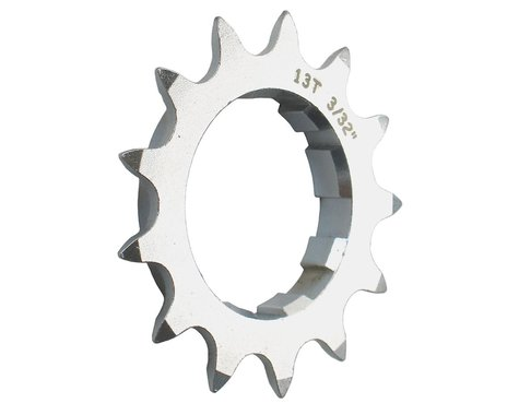 Gusset Double Six Cog (Silver) (12T)