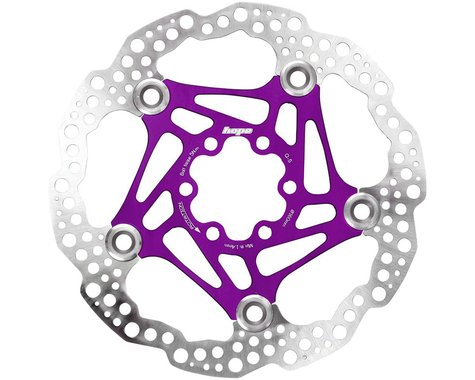Hope Floating Disc Brake Rotor (Purple) (6-Bolt) (160mm)