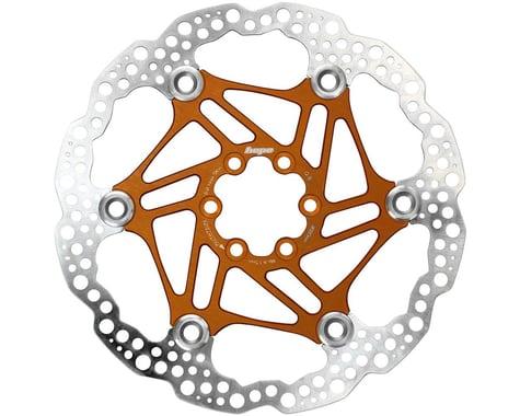 Hope Floating Disc Brake Rotor (Orange) (6-Bolt) (180mm)