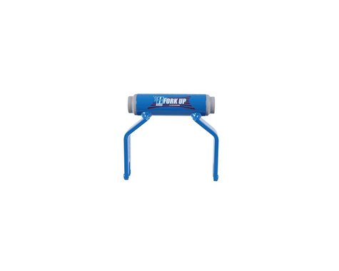 Hurricane Components Fork Up Thru Axle Bike Rack Adapter (Blue) (12 x 100mm)
