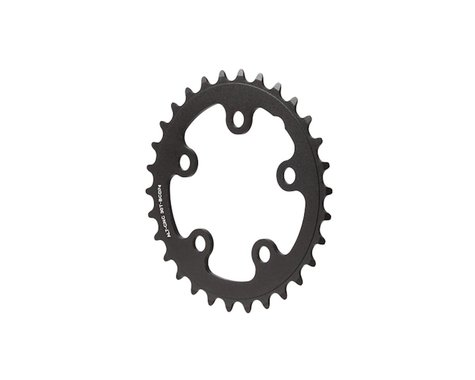 Interloc Racing Design Lobo Chainring (Black) (74mm BCD) (Offset N/A) (30T)