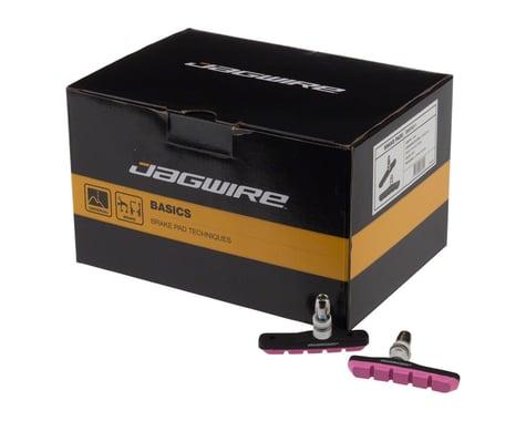 Jagwire Mountain Sport V-Brake Pads (Pink) (25 Pairs)