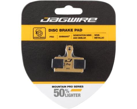 Jagwire Disc Brake Pads (Shimano XTR/XT/SLX/Deore/Alfine/CX/Rever) (Semi-Metallic) (1 Pair)