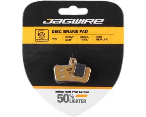 Jagwire Disc Brake Pads (Avid Trail, SRAM Guide/G2) (Semi-Metallic) (1 Pair)