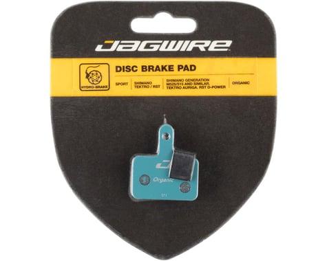 Jagwire Disc Brake Pads (Shimano Deore/Alivio/Acera, Tektro/TRP/Promax) (Organic) (1 Pair)