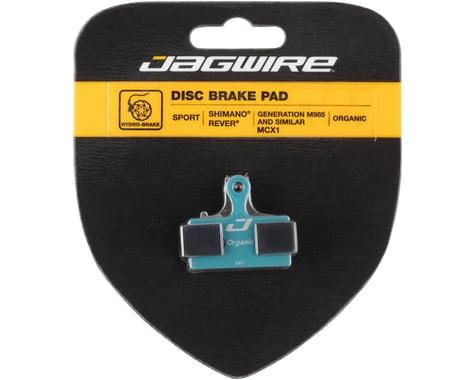 Jagwire Disc Brake Pads (Shimano XTR/XT/SLX/Deore/Alfine/CX/Rever) (Organic) (1 Pair)