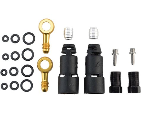 Jagwire Pro Disc Brake Hydraulic Hose Quick-Fit Adapters (SRAM Level Ultimate)
