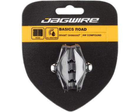Jagwire Basics Road Molded Brake Pads (Black) (Threaded) (1 Pair)