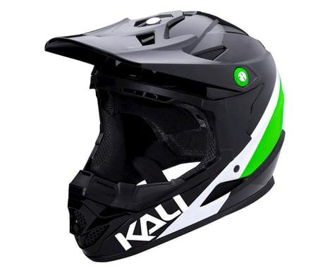 Kali Zoka Helmet (Gloss Black/Lime/White)
