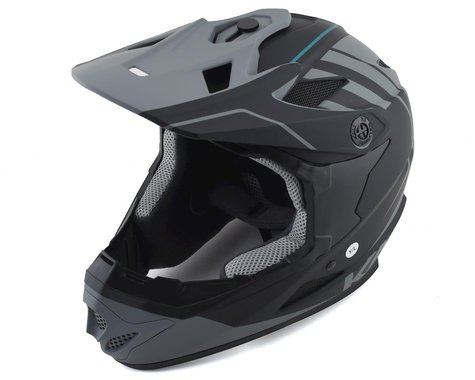 Kali Zoka Full-Face Helmet (Matte Black/Grey)