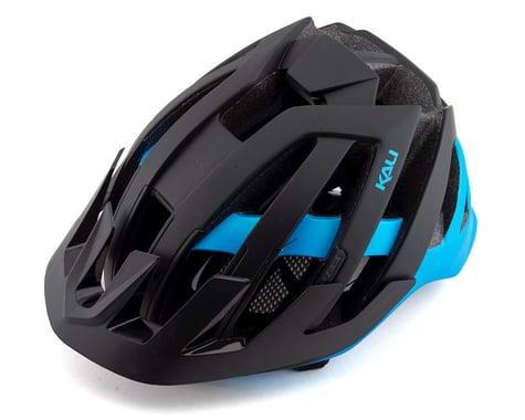 Kali Interceptor Helmet (Dual Matte Black/Blue)