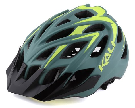 Kali Chakra Plus Helmet (Olive/Yellow) (S/M)