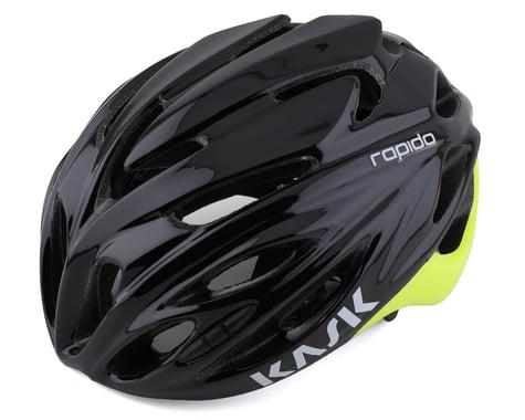 KASK Rapido Helmet (Black/Yellow Fluo) (L)