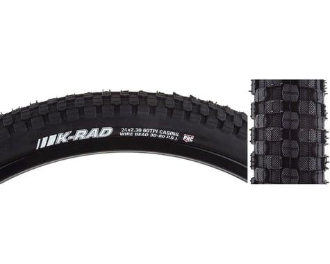 "Kenda K-Rad Sport Tire (Black) (2.3"") (24"" / 507 ISO)"