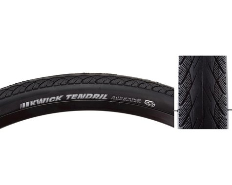"Kenda Kwick Tendril City Tire (Black) (1.5"") (26"" / 559 ISO)"