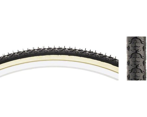 "Kenda Kross Cyclo Hybrid Tire (Tan Wall) (1-3/8"") (27"" / 630 ISO)"