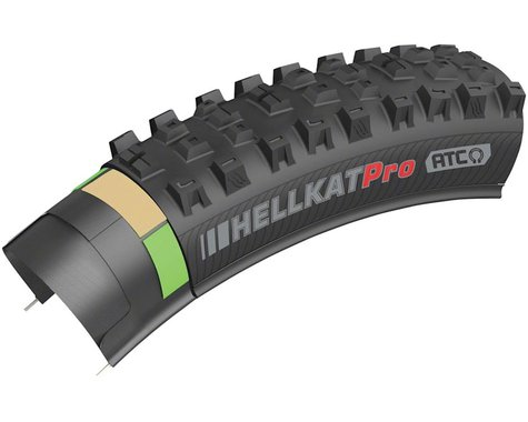 "Kenda Hellkat Pro Tubeless Mountain Tire (Black) (2.4"") (29"" / 622 ISO)"