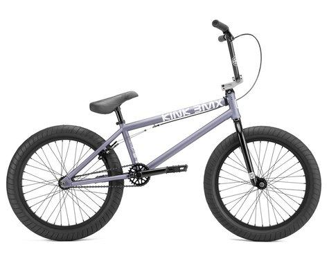 "Kink 2022 Launch BMX Bike (20.25"" Toptube) (Matte Storm Grey)"