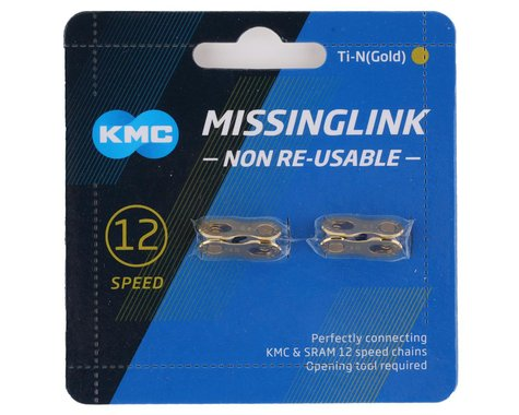 KMC MissingLink 12 (Gold) (12 Speed) (2-Pack)