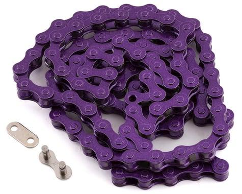 KMC S1 BMX Chain (Purple) (Single Speed) (112 Links)